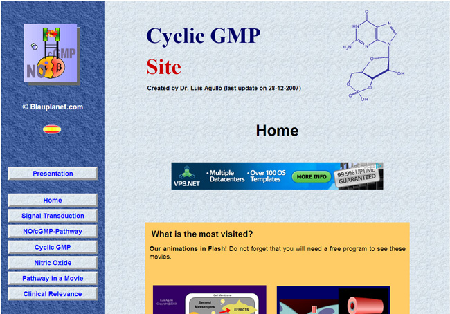 The Cyclic GMP Site